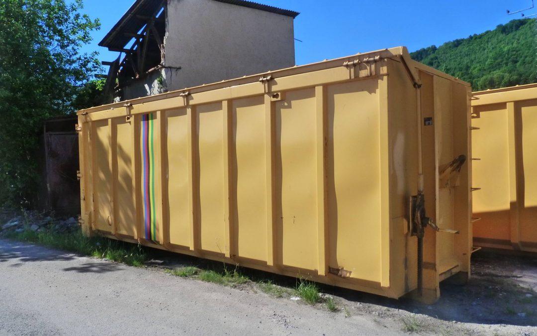 Veľkoobjemový kontajner 35 m3