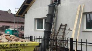 Sklz na stavebnú suť